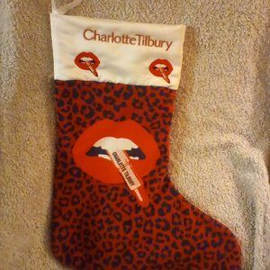 Charlette Tilbury stocking 2019 Limited edition